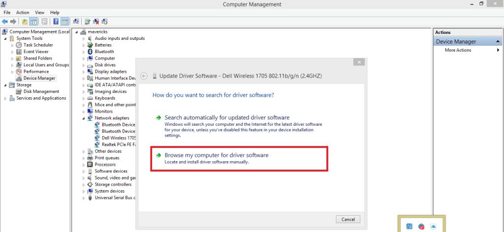 Update WiFi Driver in Windows 10
