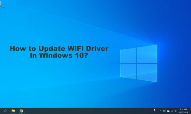 How to Update WiFi Driver in Windows 10