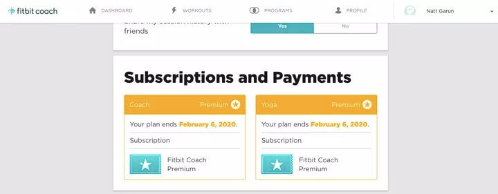 Subscriptions and Payments