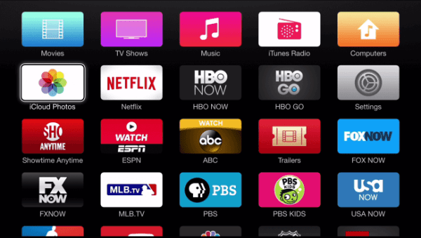 Select HBO GO tile