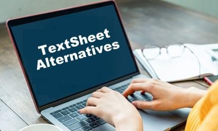 15 Best Textsheet Alternatives for Students