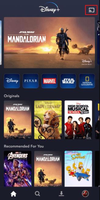 How to Add Disney Plus to Vizio Smart TV - cast disney +