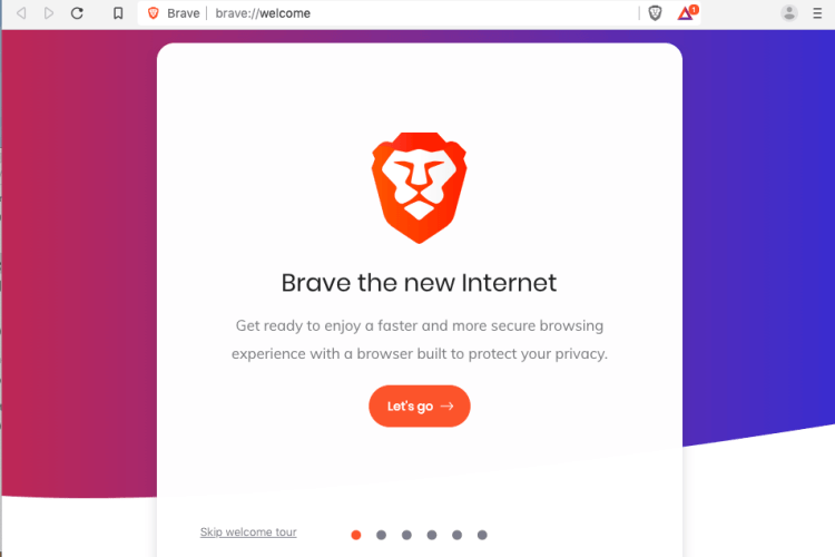 Best Web Browser for Mac - brave