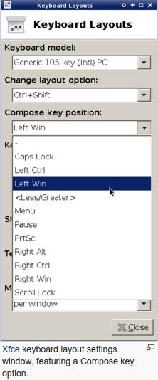 Keyboard Layout - Arrow Keyboard Symbol