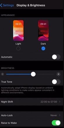 Select Dark