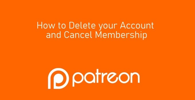 How to Delete Patreon Account