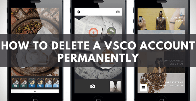 How to Delete a VSCO Account