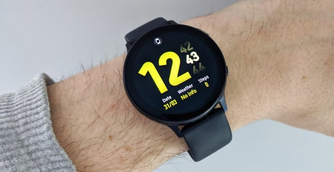 Restart Samsung Galaxy Smartwatch