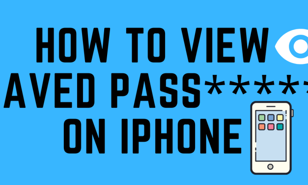 How to View Saved Passwords on iPhone | iCloud Keychain