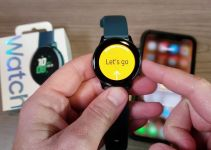 Samsung Galaxy Watch with iPhone