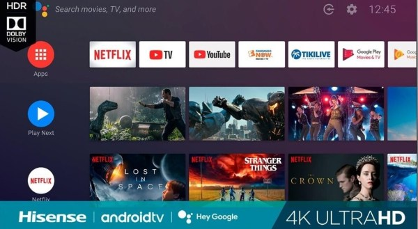 Add Apps on Hisense Smart TV - Android