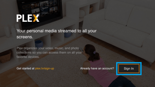 Plex Sign Up