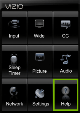 Reset Vizio Smart TV - Select Clear Memory