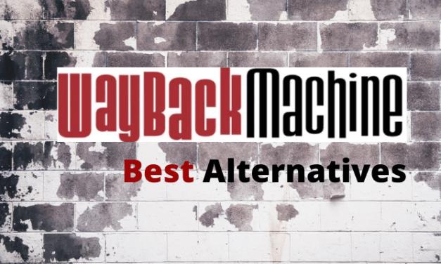 Best Wayback Machine Alternative Sites
