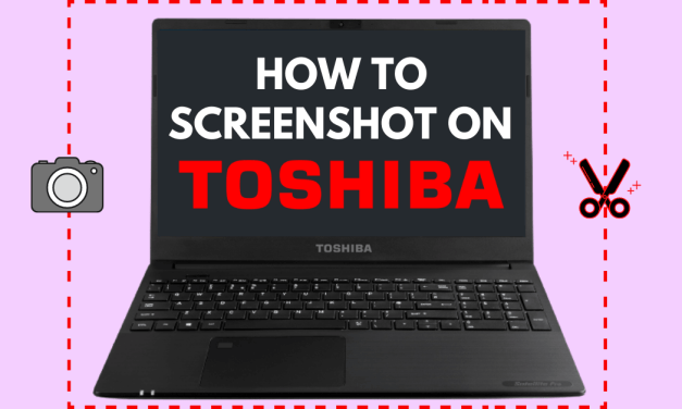 How to Screenshot on Toshiba Laptop [3 Easy Methods]