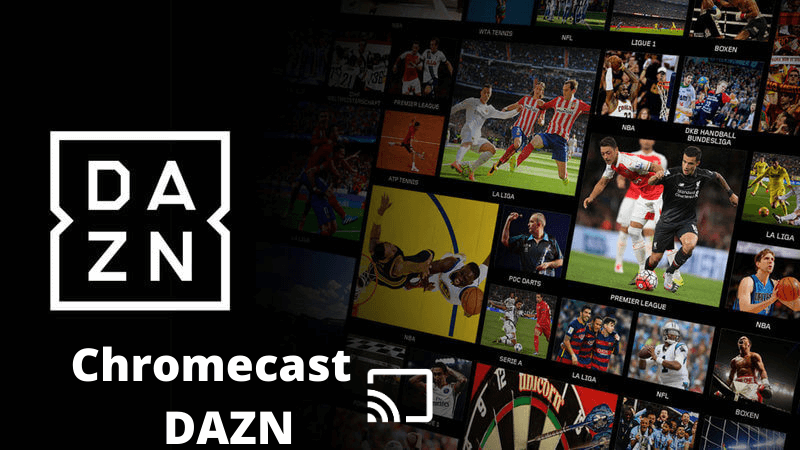How to Chromecast DAZN from Phone / PC to TV  Live Fight Sports