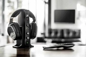 Sennheisers RS 195 - Sennheiser's new RS line defines a new standard in digital wireless home audio