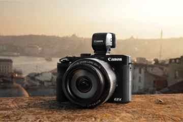 PowerShot G3 X Ambient 2 on ledge - The ultimate superzoom powerhouse – Canon unveils the PowerShot G3 X