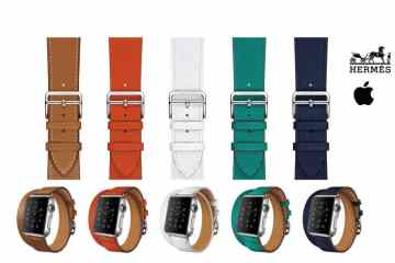 HERMES - Apple Watch Hermès collection now available in Apple Store Mall of Emirates.