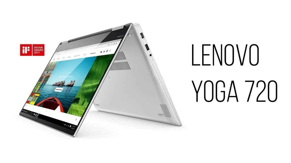 lenovo yoga 720 15 iF design award 2017 hero - Your Ultimate Tech Wish list This Holiday Season.