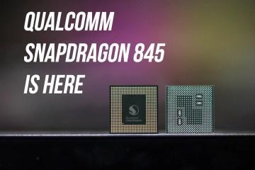 8xx both sides - Qualcomm Launches Next-Generation Qualcomm Snapdragon 845 Mobile Platform