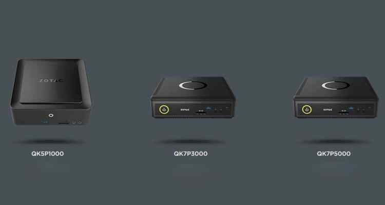 ZOTAC Q series - Zotac Unveils Tiniest Workstation Mini PC Powered By Nvidia Quadro Graphics With Pascal Architecture.