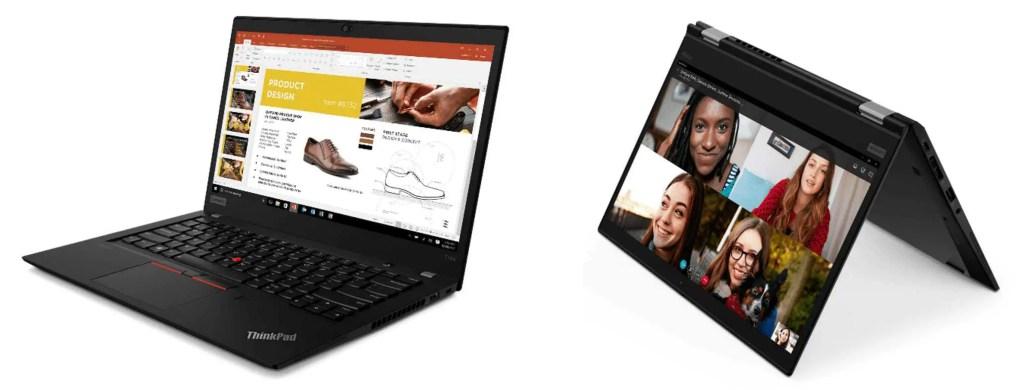 Opdateret ThinkPad bærbar portefølje giver valgmulighed og forretningsfrihed