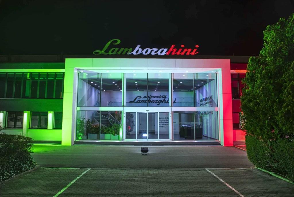 Automobili Lamborghini deltager i kampen mod Coronavirus