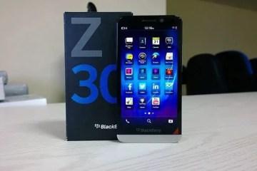 blackberry z30 15 - Blackberry Z30 Unboxing [Image Gallery]