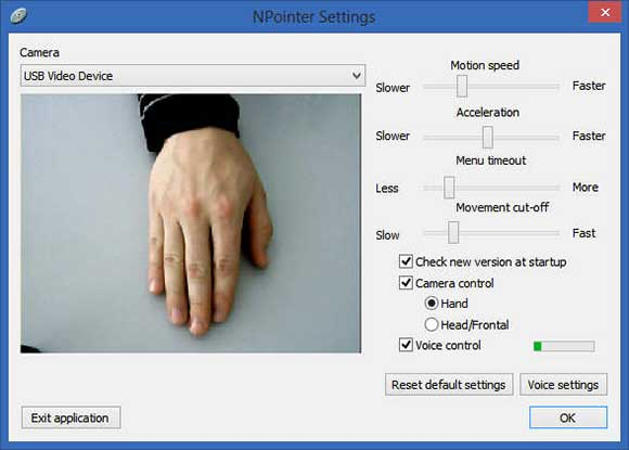 npointer-settings
