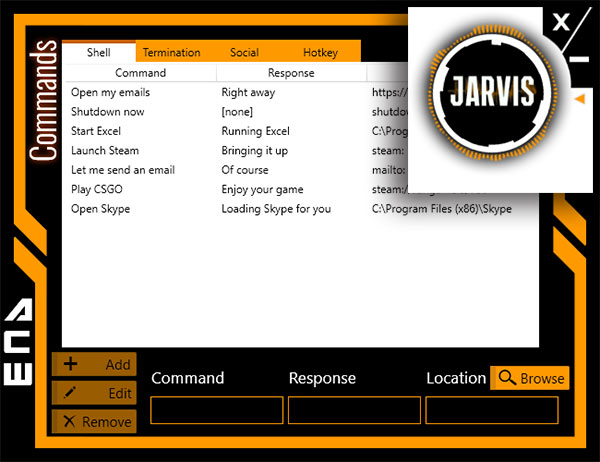 Best Artificial Intelligence Software Windows Jarvis Lite