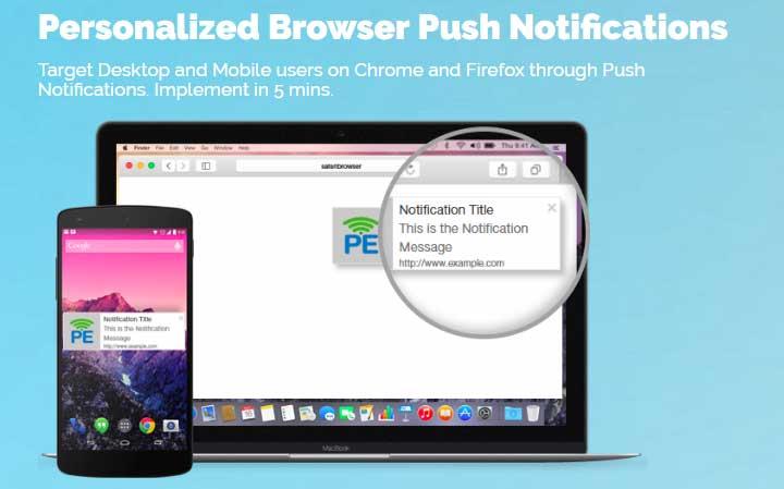 Best Free Website Push Notification Services PushEngage