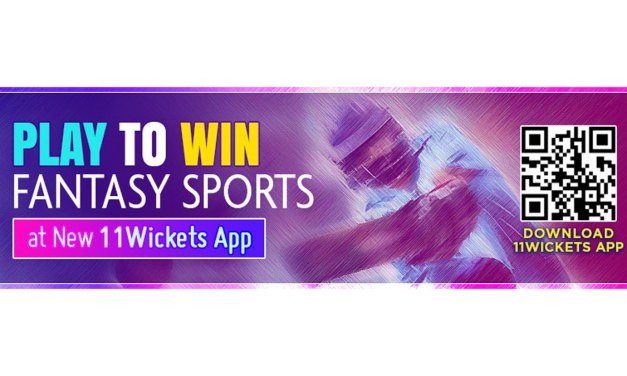 Play to Win Fantasy Sports at New 11Wickets App