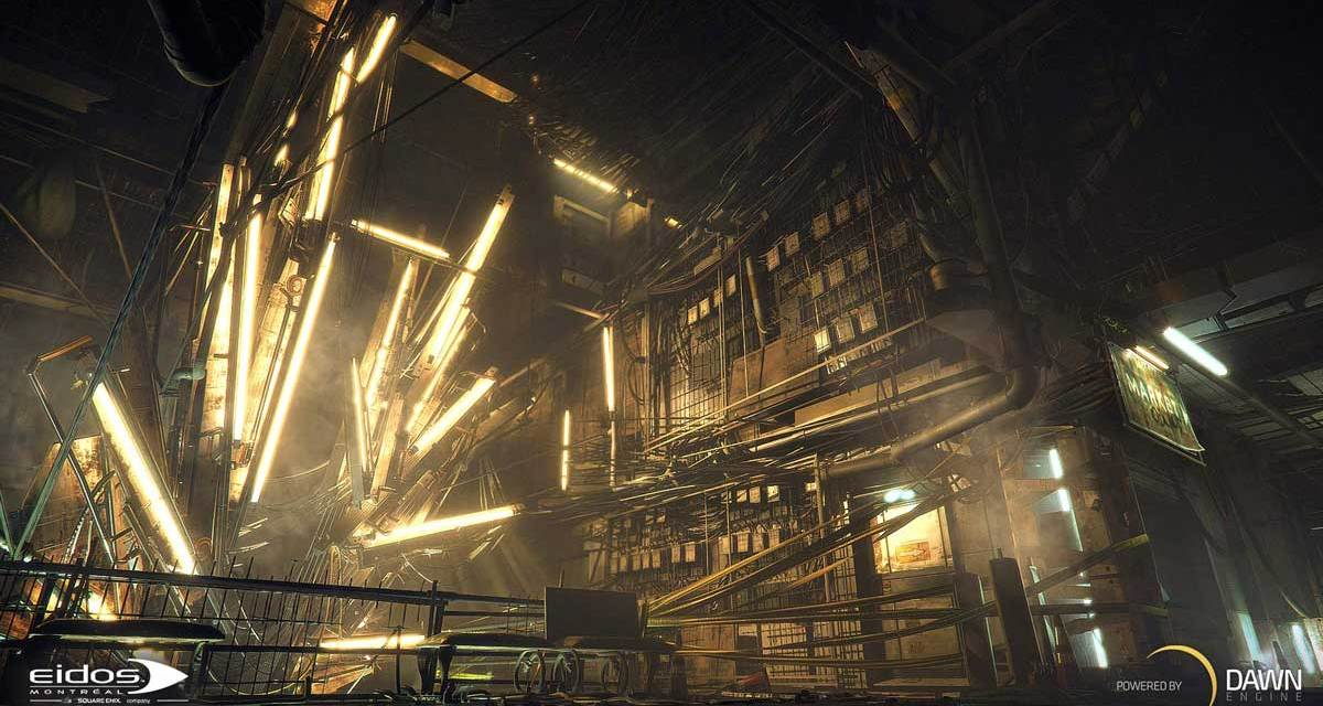EIDOS Reveals Dawn Engine™ For The DEUS EX Universe