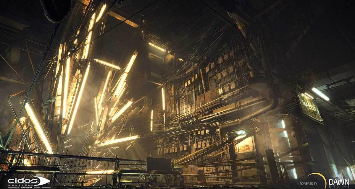 EIDOS Reveals Dawn Engine™ For The DEUS EX Universe