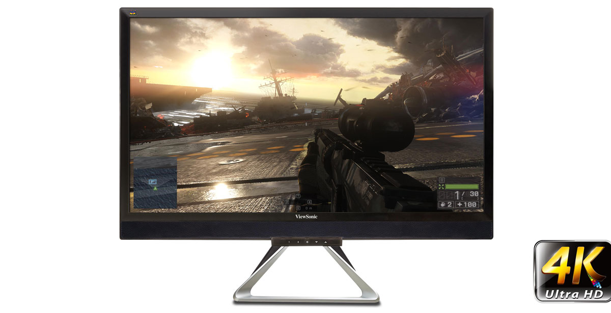 "ViewSonic Outs New 28"" Flagship Gaming and Entertainment Displays"