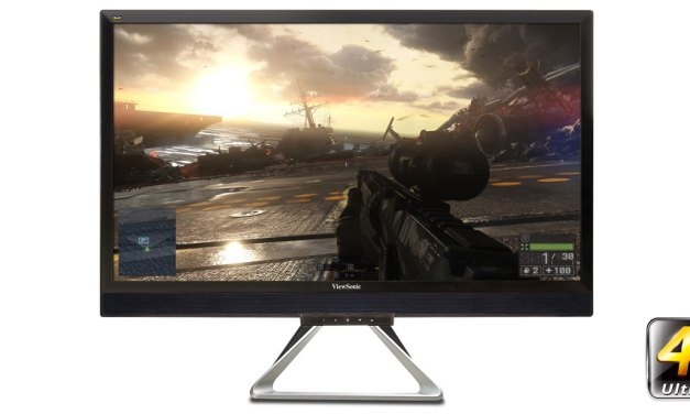 """ViewSonic Outs New 28"""" Flagship Gaming and Entertainment Displays"""