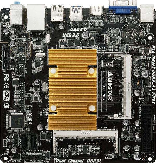 BIOSTAR's J1900NH2 Is TheMini-ITX for Flexible Use