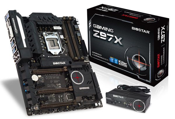 BIOSTAR Launches Gaming Z97X Motherboard