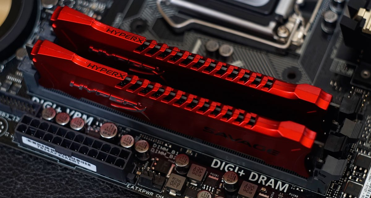 Kingston HyperX Savage DDR3 2400MHz 16GB Memory Kit Review