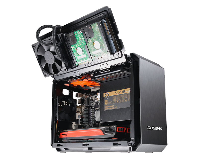 COUGAR Releases QBX: Company's First Mini-ITX Gaming Chassis