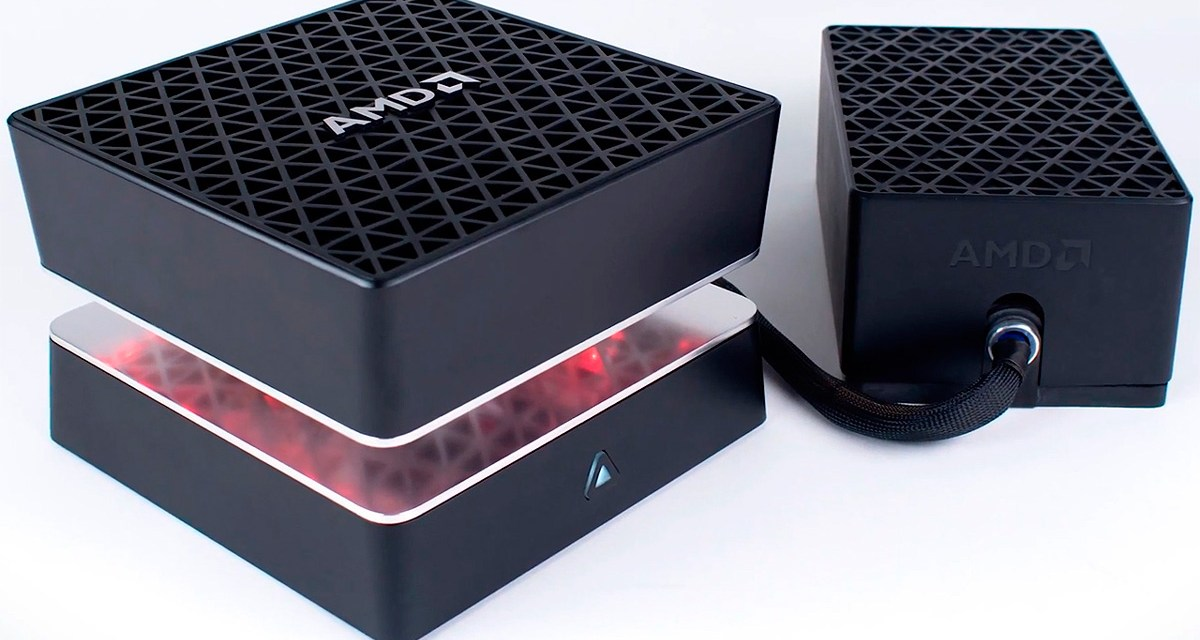 AMD's Project Quantum Is a Beastly Mini PC With 2 GPUs