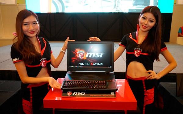 A Look At MSI's Gaming Hardwares At Computex 2015