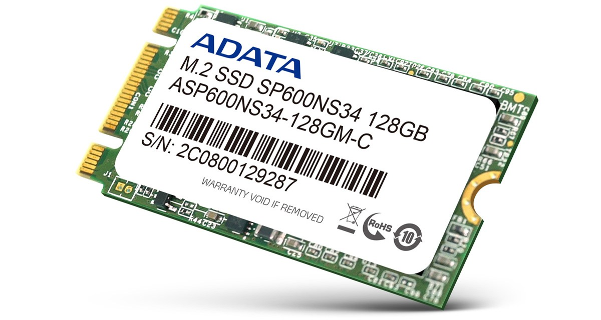 ADATA Launches SP600NS34 M 2 SSD   TechPorn