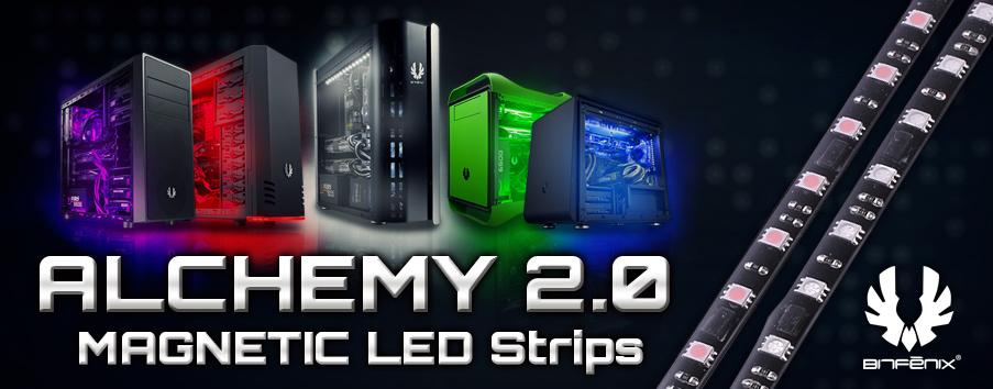 BitFenix Announces Alchemy 2.0 Magnetic LED Strips