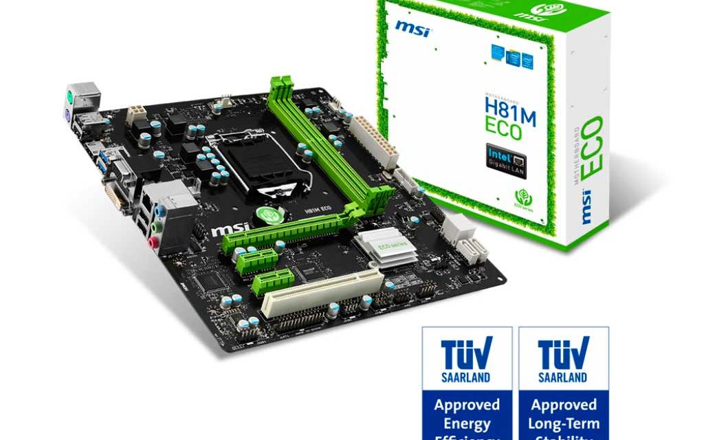MSI H81M-ECO Motherboard Review