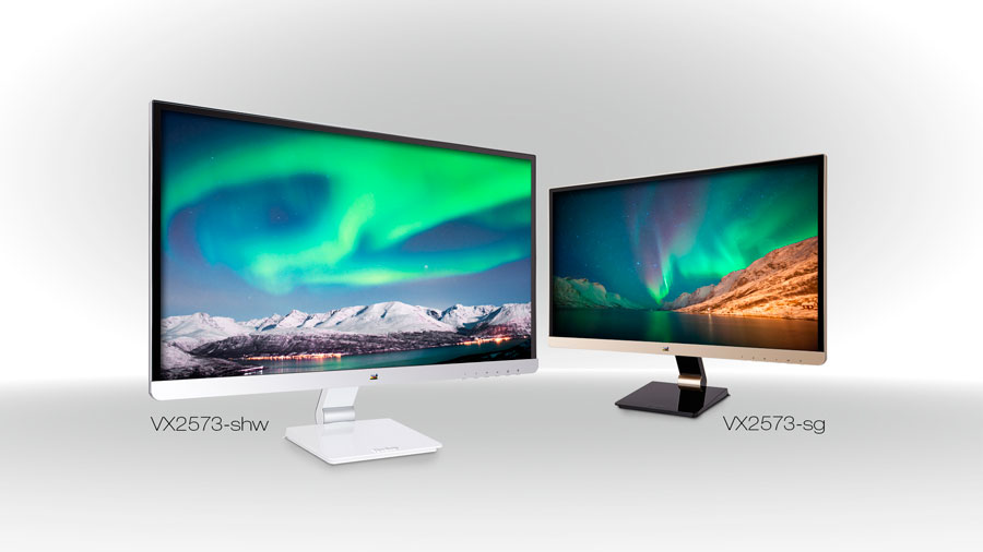 ViewSonic Announces New 25″ IPS Displays w/ Elegant Design & Health Care Benefits