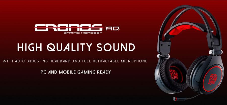 Tt eSPORTS Unveils CRONOS AD Premium Gaming Headset