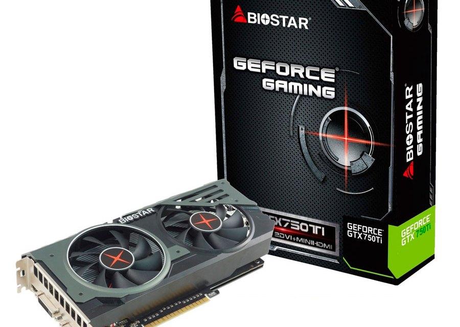 BIOSTAR Releases Gaming GTX 750 Ti OC