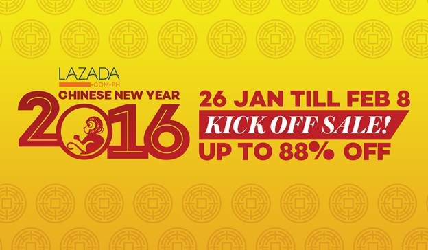 LAZADA PH Chinese New Year Sale Is On!